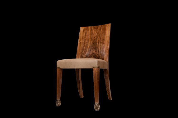 A Set of Ten Dining Chairs